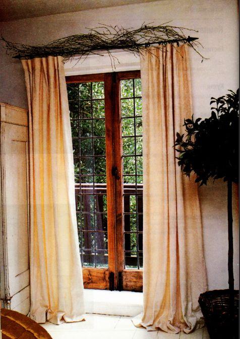 шторы из нарядного кремового дамаста