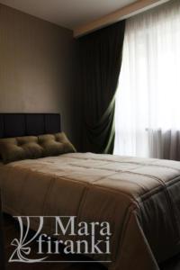 Шторы в спальне 28