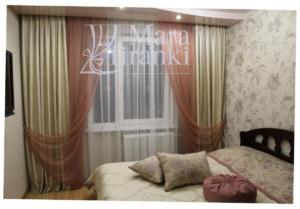 Шторы в спальне 49