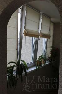 пошив римски штор