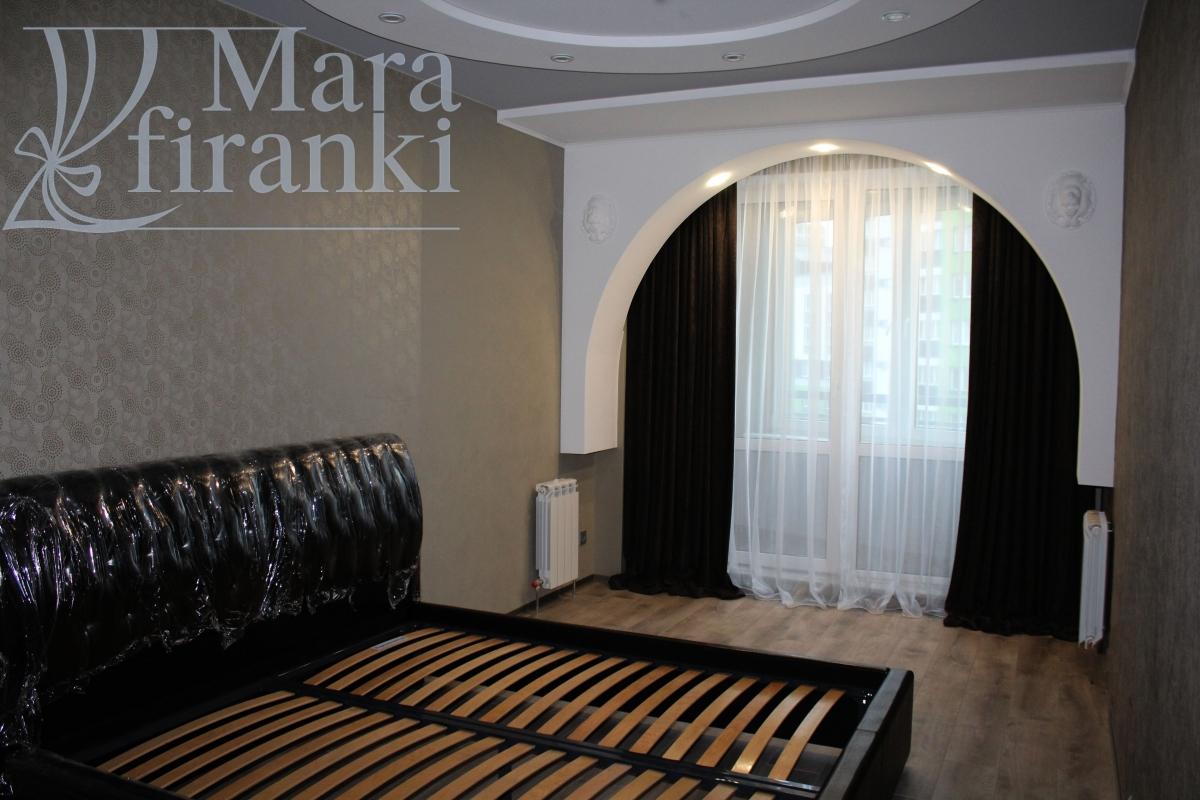 заказать дизайн штор для спальни