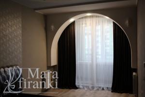 яркий дизайн штор для спальни